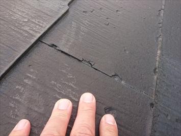 目黒区八雲で塗装してあるニチハのパミールには屋根カバー工事をご提案