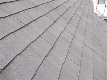 築10年のスレート葺き屋根