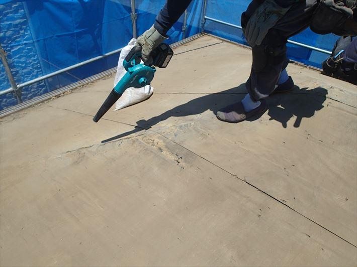 屋根葺き替え下地処理
