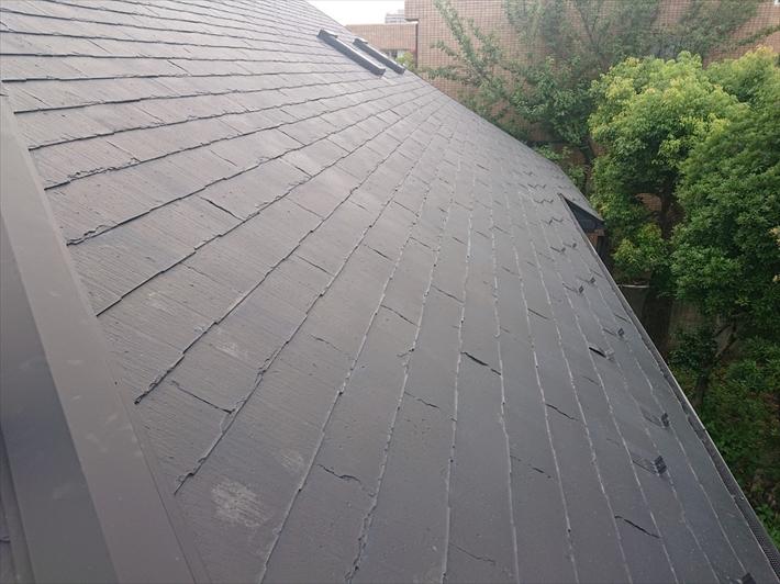 3年前に塗装したスレート屋根