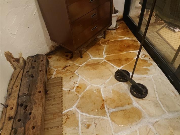 渋谷区恵比寿南で鉄筋コンクリート造の建物の雨漏りの原因調査をおこないます