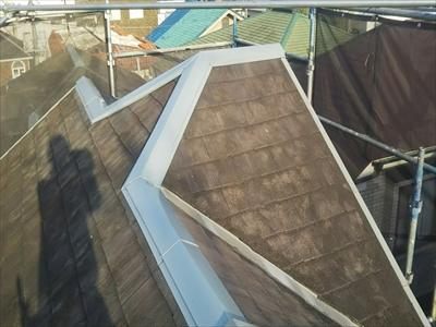 台風15号・台風19号によって被害を受けた世田谷区の住宅 完工写真