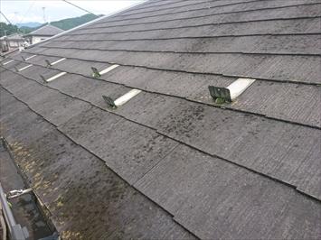 一度もメンテナンスをしていないスレート屋根