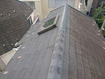 スレート屋根は雨漏りの原因ではありません