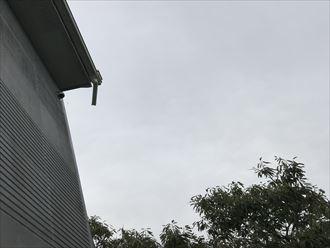 雨樋の損壊