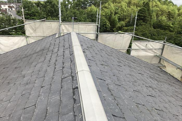 ニチハのパミールを使用した屋根
