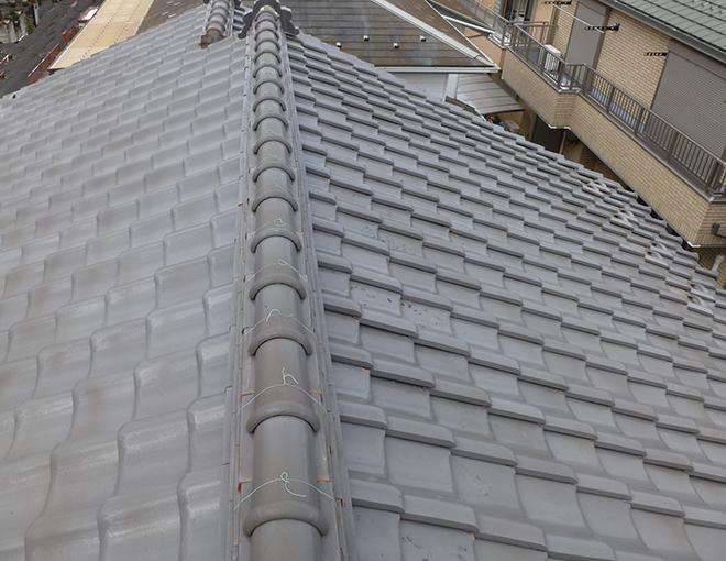 築40年の瓦屋根
