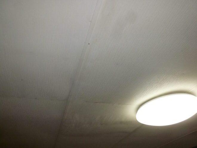 天井の雨漏り症状