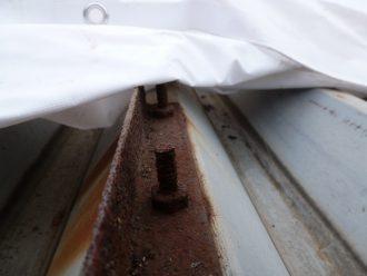 折板屋根の錆