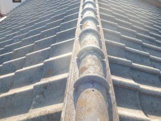 防水性の落ちたセメント瓦