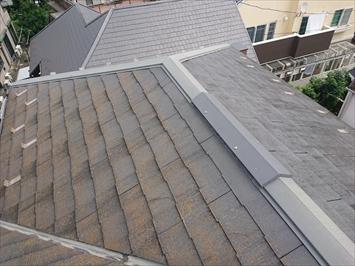 スレート葺き屋根の状態