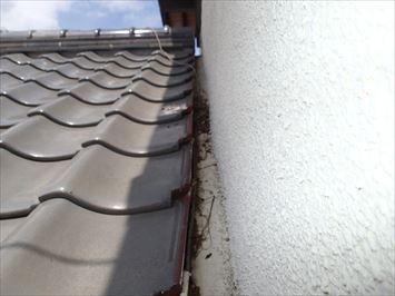 江戸川区一之江で瓦屋根からの雨漏りの原因調査に伺いました