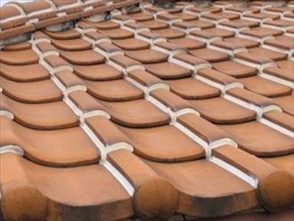 ラバーロックの瓦屋根