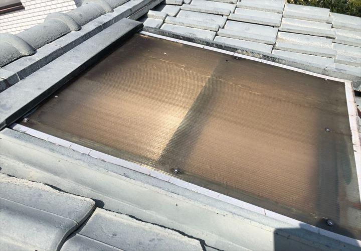 世田谷区下馬で雨漏りした天窓の調査に伺いました