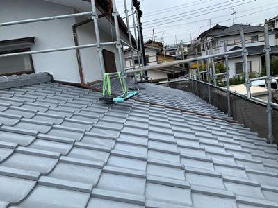 台風15号・台風19号によって被害を受けた調布市の住宅 完工写真