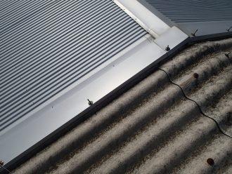 波形スレート屋根への屋根カバー