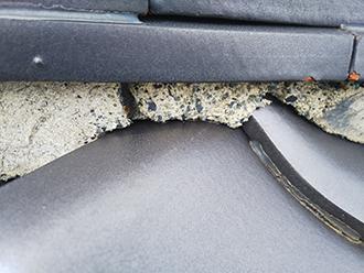 漆喰の劣化は屋根に悪影響です