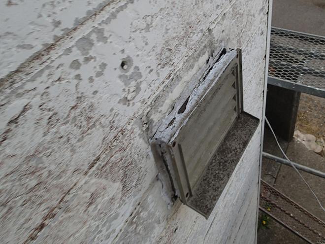 窯業系サイディング外壁の剥がれ