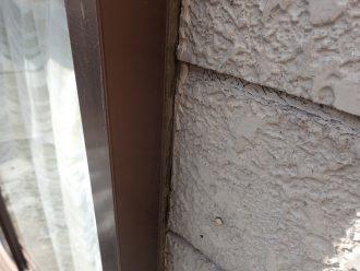 シーリングが劣化しできた隙間が危険です