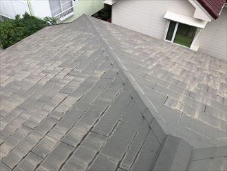 アスベスト含有のスレート屋根