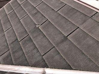 屋根の欠損