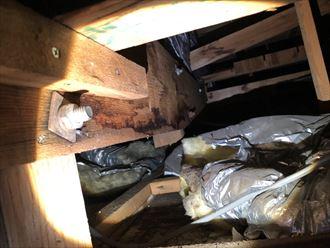 立川市錦町の雨漏りは外壁のクラックが原因と思われます