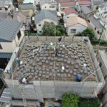 ドローン写真屋根