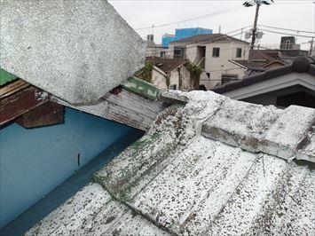 屋根棟違い