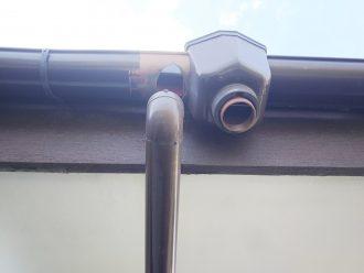 品川区南品川で外れた雨樋の修繕、交換には大容量タイプの角型がおすすめです!