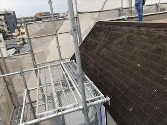 アスファルトシングルの屋根の劣化