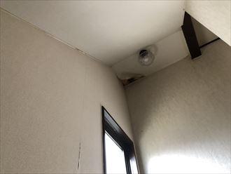 陸屋根の真下の部屋2