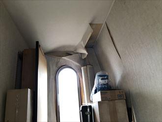 陸屋根の真下の部屋