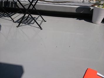 新宿区百人町でテナントビル屋上のウレタン防水補修工事をおこないます