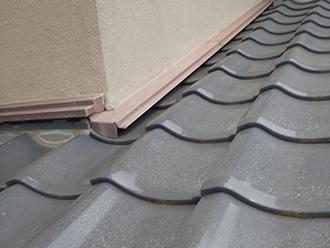 屋根と外壁との取り合い