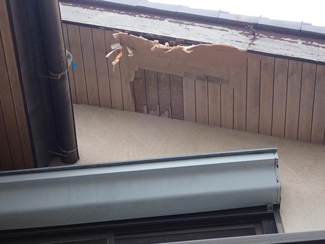 軒天の剥がれや劣化は建物に影響大!放置せず修理しましょう|品川区小山