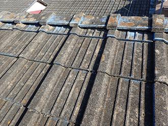 大田区東糀谷、小屋裏で雨漏りしているセメント瓦は屋根葺き替えで解決!