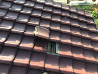 練馬区大泉学園町にて瓦屋根の雨漏り調査を行いました