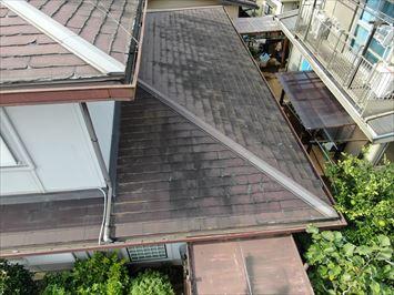 メイン下屋根の様子