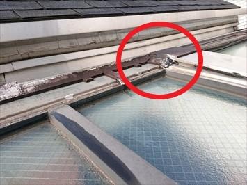 目黒区駒場で散水試験で雨漏り箇所を特定しましたので雨漏り修理工事を実施しました