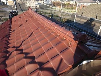瓦屋根の写真