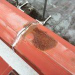 板金の錆びは穴が開きやすい