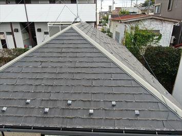 捲れた屋根