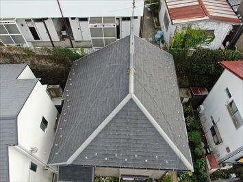 屋根ドローン調査