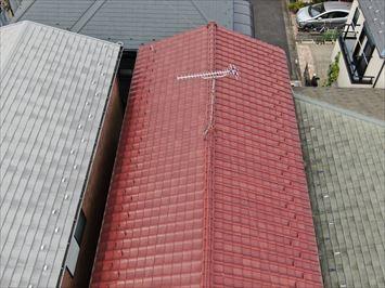 ドローン屋根調査