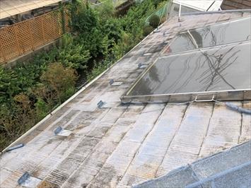 太陽熱利用温水器の撤去も行います