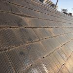 屋根の塗膜が劣化しております
