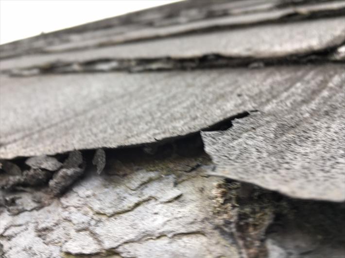 世田谷区喜多見にて屋根の葺き替えをご希望のお客様のお宅を調査してまいりました