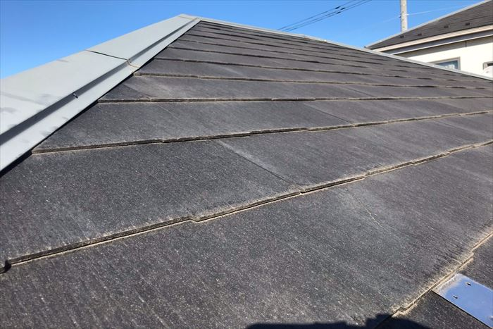 墨田区立花でスレート屋根のお手入れについてのご相談、現地調査を行いました