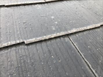 縁切りがされていない屋根
