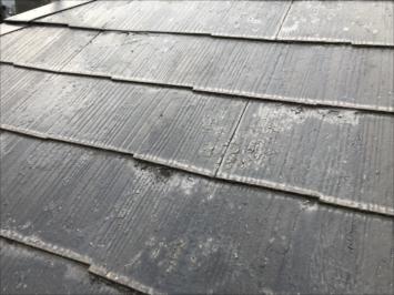 表面が剥がれた屋根の塗装